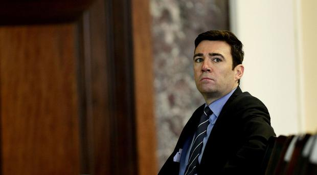 Andy Burnham hit out at the Government's record
