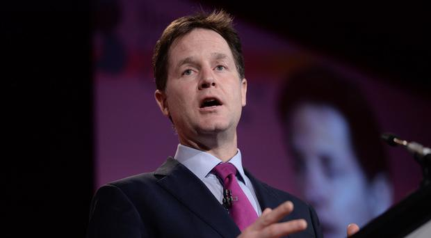 Nick Clegg will urge party members to shout their message from the rooftops