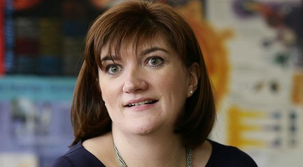 Education Secretary Nicky Morgan said that Tristram Hunt owed the Ofsted chief inspector an apology over the remarks