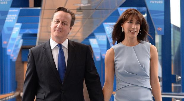 Samantha Cameron said she wants her husband to triumph in the general election