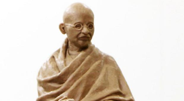 A wax model of the sculpture of Gandhi by Philip Jackson (Westminster City Council/PA)