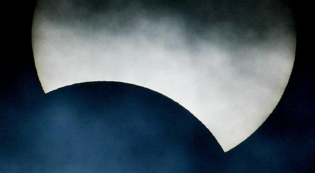Sky-watchers are excited about a solar eclipse visible across the UK on Friday