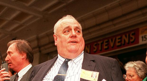 Liberal MP Sir Cyril Smith who was brought in by police during an inquiry in the early 1980s.