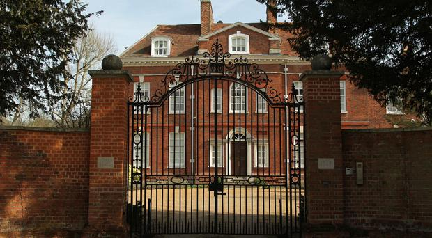 The Hall in Much Hadham, Hertfordshire, one of the homes belonging to Peter Cruddas