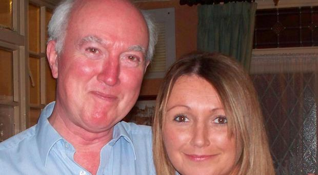 Claudia Lawrence, pictured with her father Pete, went missing six years ago