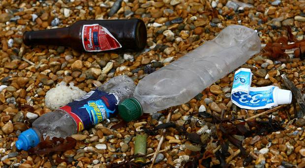 An annual survey revealed a 6.4% increase in overall beach litter between 2013 and 2014