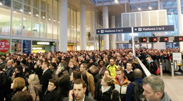 Passengers using London Bridge station have been subjected to overcrowding, late-running and cancelled services because of problems in recent weeks