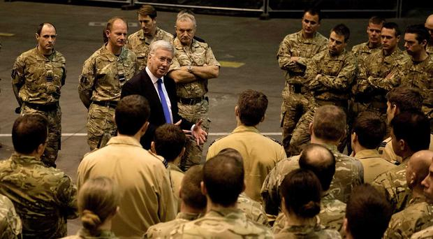 Defence Secretary Michael Fallon said the Conservatives are committed to defence