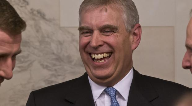 Prince Andrew organised an impromptu rendition of Happy Birthday for his daughter, Princess Eugenie