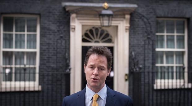 Nick Clegg said he did not think there had been an
