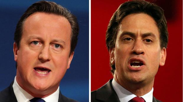 Prime Minister David Cameron and Labour party leader Ed Miliband were grilled by Jeremy Paxman
