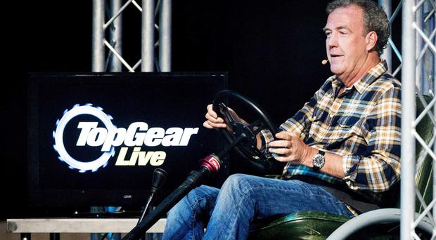 Fast lane: Jeremy Clarkson doing his live show