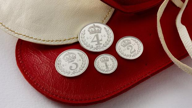 The Royal Mint's commemorative Royal Maundy coins