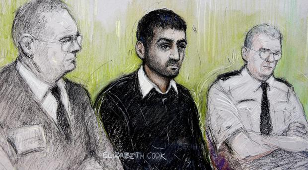 Erol Incedal was cleared of targeting Tony Blair and his wife Cherie as part of a terrorist plot (Elizabeth Cook/PA)