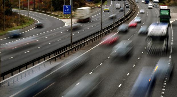 Roads are expected to be busy as the Easter getaway begins