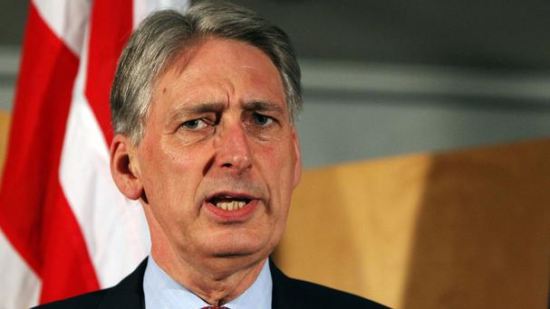 Foreign Secretary Philip Hammond welcomed the progress