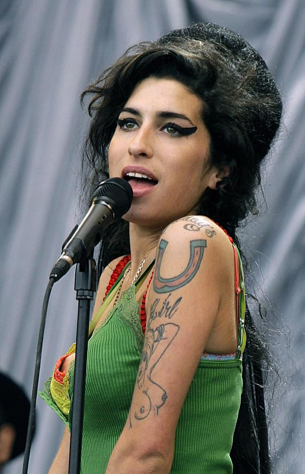 Tragic: Amy Winehouse