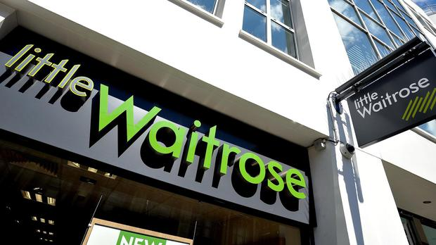 Waitrose receives goods from Ocado
