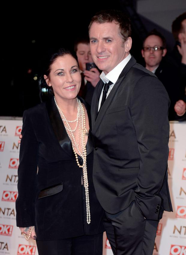 Jessie Wallace and Shane Ritchie