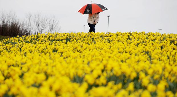 There has been mixed weather so far during the Easter weekend