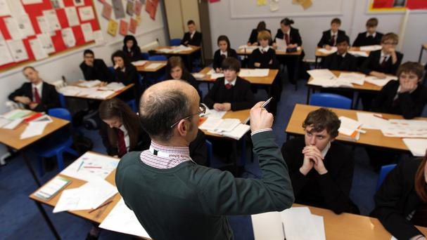 The Conservatives say they will protect cash school spending per pupil if they win the election