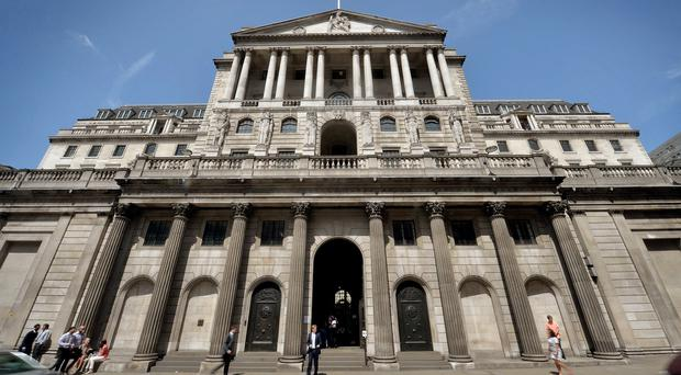 The Bank of England, as expectations of a hike are pushed back into next year