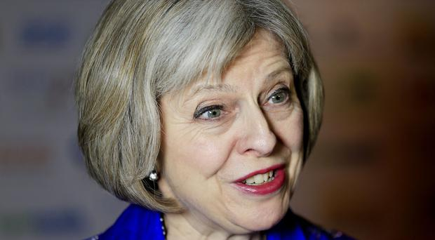 Theresa May said staff levels are not a problem when it comes to fighting extremism in jails
