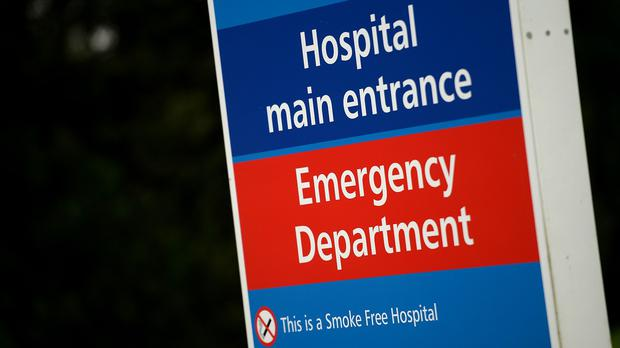 Accident and emergency departments have missed their target for the year