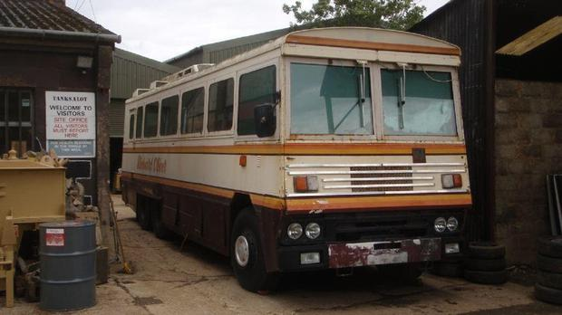 The bus is powered by a 12-litre Rolls-Royce diesel engine (JP Humbert Auctioneers/PA Wire)
