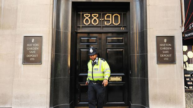 Burglars have broken into several safety deposit boxes in a vault at the Hatton Garden Safe Deposit company