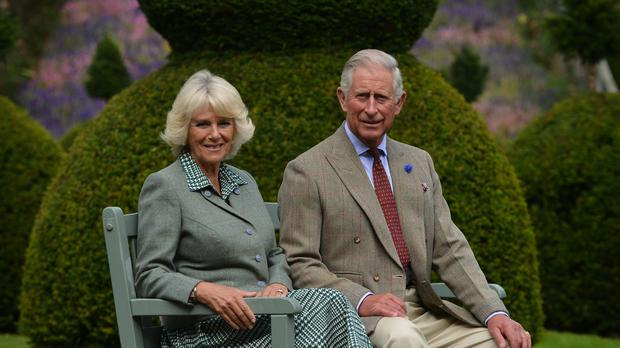 Charles and Camilla will spend the day at Birkhall