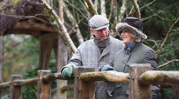 The Prince of Wales and the Duchess of Cornwall are celebrating their 10th wedding anniversary at Birkhall in Scotland