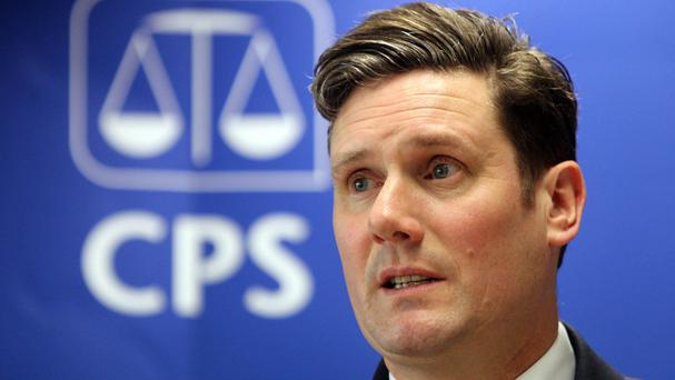 Former DPP Keir Starmer has sounded a warning over new laws favouring cyclists