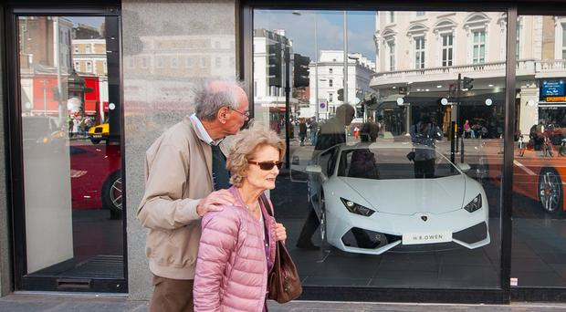 Only one in 100 older people plan to blow their pension pot on treats like a new sports car, a survey has found