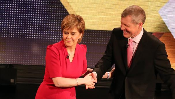 Willie Rennie warned that Nicola Sturgeon is determined to take Scotland on an accelerated pathway to independence