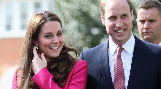 The Duke and Duchess of Cambridge's second baby is due in April