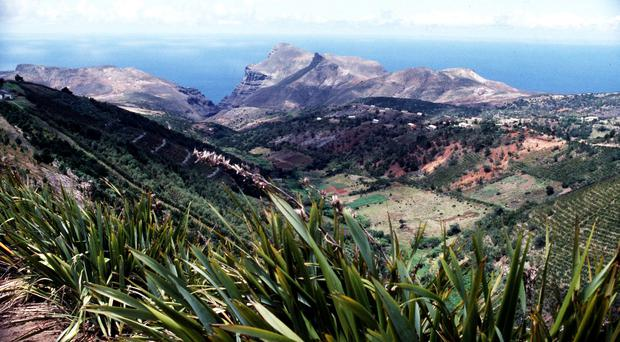 St Helena is the island to which French emperor Napoleon was sent after his defeat at the Battle of Waterloo