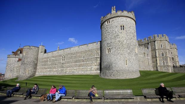 Staff are not paid for extra duties such as guiding visitors around Windsor Castle