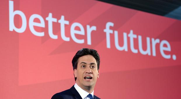 Labour Party leader Ed Miliband is campaigning on the issue of immigration