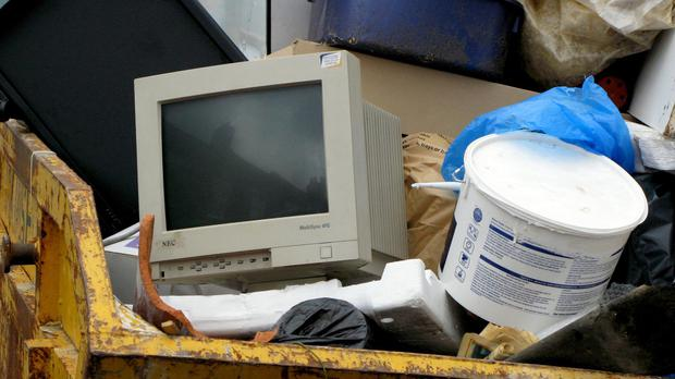 There was more than 41m tonnes of 'e-waste' in 2014