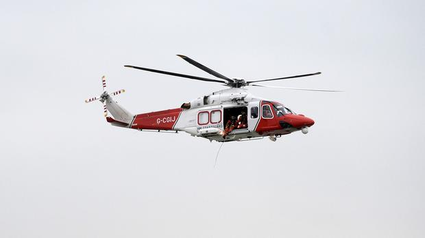 Coastguard teams were launched to search off the coast of Hill Head, Hampshire