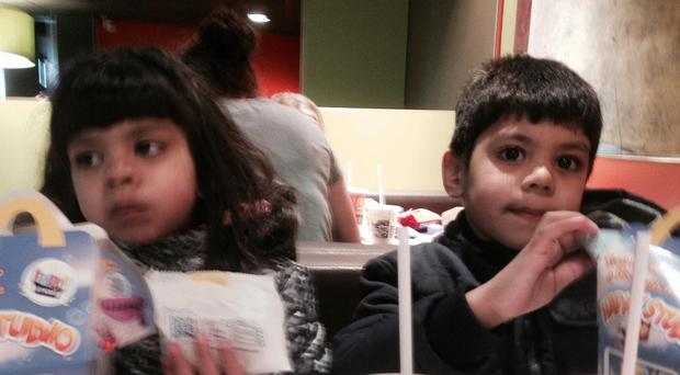 Handout photo issued by Thames Valley Police of Essa and Zoha Malik (left)