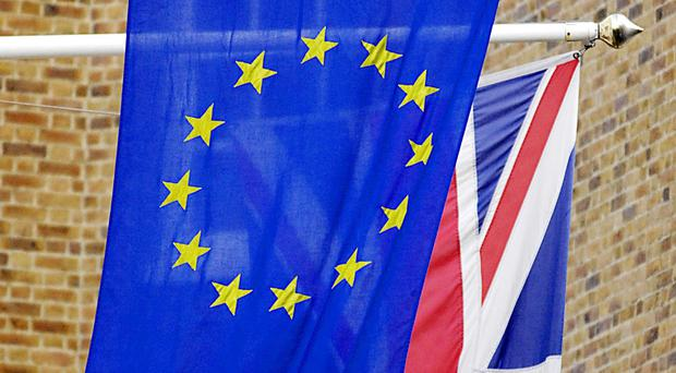 The eurozone recovery will help to boost growth in the UK economy, according to a report
