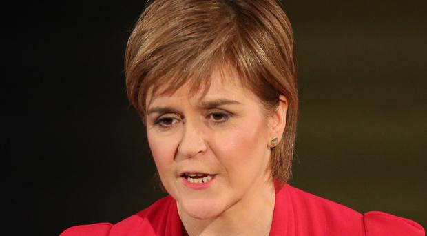 Nicola Sturgeon said her party would 'not do any deals which would put the Tories into power'