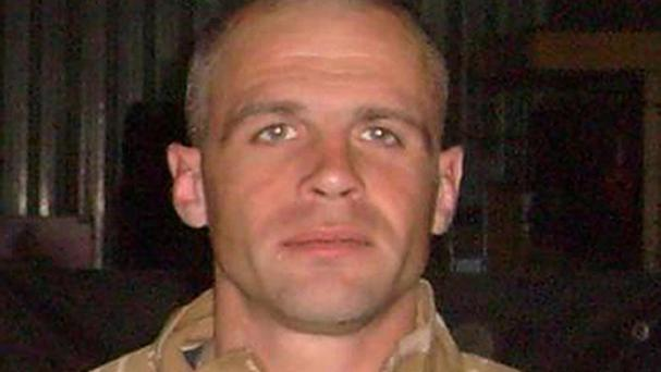 Colour Sergeant Martyn Horton was one of four victims of the canal crash in Afghanistan