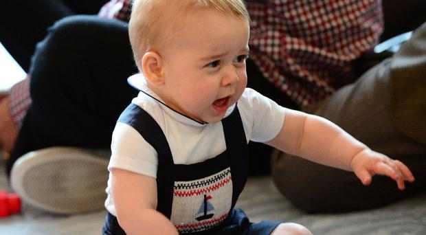 Prince George has been dressed in classic pieces