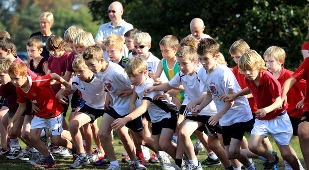 There are calls for primary school-age children to become more active