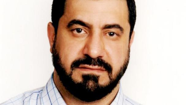 The body of Syrian-born preacher Abdul-Hadi Arwani was found in his car in north London
