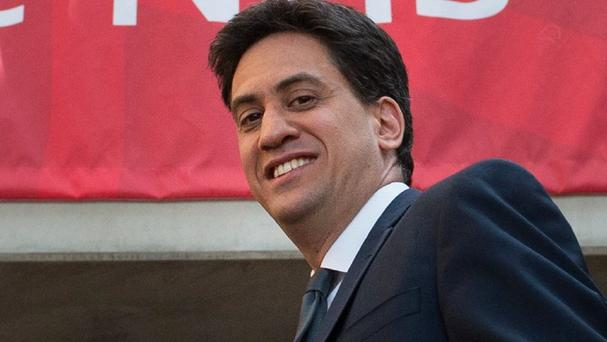 Ed Miliband says the scale of cuts planned by the Conservatives for the first half of the new parliament is unprecedented since the end of the Second World War