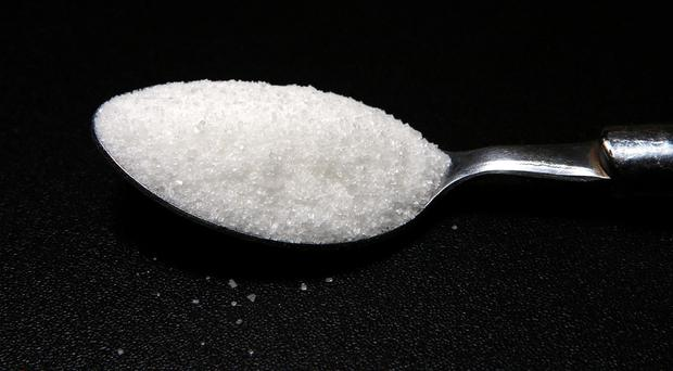 Fizzy drinks contain large quantities of sugar